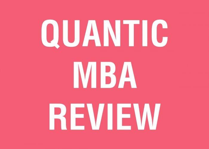 FREE Quantic Online MBA Program Review